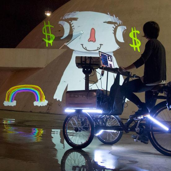 VJ Suave y su graffiti digital