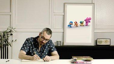 Diseño de personajes y Animación 3D. A 3D, and Animation course by Rafael Carmona