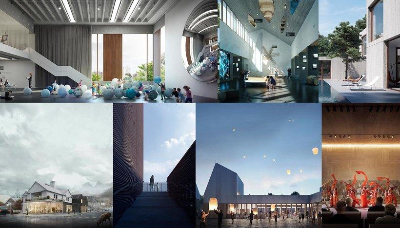 Representaci n de espacios arquitect nicos con 3d studio for Dimensiones de espacios arquitectonicos