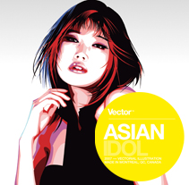 Asian Idol. A Design&Illustration project by GrafikWar Simon Carrasco - 06.19.2009