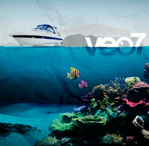 Verano en veo7. A Design, Motion Graphics, Film, Video, and TV project by Oscar Arias - 21-07-2009