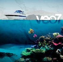 Verano en veo7. Un proyecto de Diseño, Motion Graphics, Cine, vídeo y televisión de Oscar Arias - Martes, 21 de julio de 2009 16:16:29 +0200