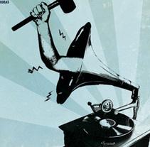 Atiza Rock 2009. Un proyecto de Diseño de Roselino López Ruiz - 22-07-2009