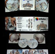 CD infinita 09. Un proyecto de Diseño de Alberto Rosa  - 23-07-2009