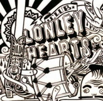 Lonely Hearts Folk Band. A Illustration project by Raúl Gómez estudio - Sep 02 2009 08:35 PM