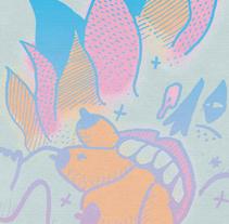 Cartel Margarita + Juanita y los Feos. A Design, Illustration, Music, and Audio project by LaCamorra - Oct 19 2009 05:42 PM