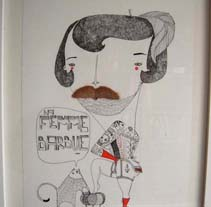 Bigotes. A Illustration project by amaia arrazola         - 01.11.2009