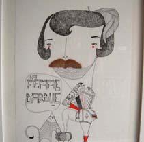 Bigotes. Un proyecto de Ilustración de amaia arrazola - Lunes, 02 de noviembre de 2009 00:32:24 +0100
