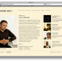 Good Inc.. A Software Development project by Javier Arce - Nov 23 2009 08:07 AM
