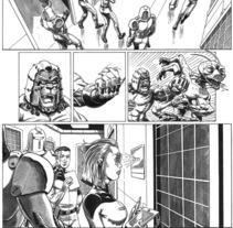 Caged historia corta pagina 2. A Illustration project by Tomás Morón Aranda - 08-12-2009
