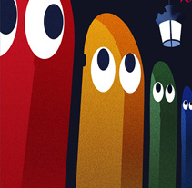 Cartel carnaval Vitoria 2010. Un proyecto de Diseño e Ilustración de Eloy Ortega Gatón - 13-01-2010