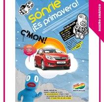 Sonríe ¡Es primavera!. Un proyecto de Diseño, Ilustración y Publicidad de Mariano de la Torre Mateo         - 21.01.2010