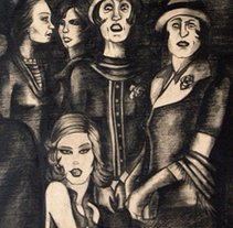 Pictórica en blanco y negro.. A Illustration project by Pachi Santiago  - 25-01-2010