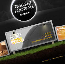 Sony Twilight Football. A Design, and UI / UX project by Luís Carvalho         - 31.01.2010