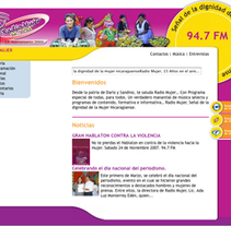 Radio Mujer. A Design, Software Development, UI / UX&IT project by quintajose         - 04.02.2010