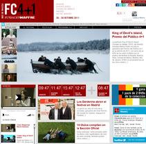 Web Festival de Cine 4+1. Un proyecto de Diseño, Cine, vídeo, televisión, Desarrollo de software y Publicidad de seven  - Viernes, 12 de febrero de 2010 16:42:08 +0100