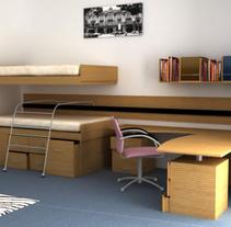 dormitorio. Un proyecto de 3D de Jorge Morales Luis - 12-02-2010