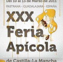 Propuesta Cartel Feria Apícola. Un proyecto de Diseño, Ilustración y Publicidad de Jose Blas Ruiz Hernandez - Jueves, 18 de febrero de 2010 22:17:07 +0100