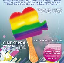 Concepto Gráfico - Festival Internacional de Cine Gay y Lésbico de Ibiza 09. A Design, Film, Video, and TV project by tad zius - Feb 19 2010 02:44 AM