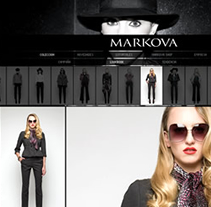Markova - indumentaria de ropa femenina. A Design, Motion Graphics, Software Development, UI / UX, IT, and Photograph project by Juan Francisco Amézaga - 02.24.2010