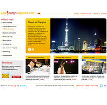 ExpoShanghaiAgenda. A Design, Installations, Software Development, and UI / UX project by seven  - 22-03-2010