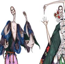 ilustracion moda. Um projeto de Ilustração de Marieta Moraleda          - 22.04.2010