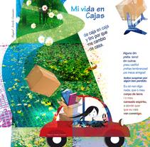 mi vida en cajas. Um projeto de Design, Ilustração e Publicidade de raquel arriola caamaño         - 26.04.2010