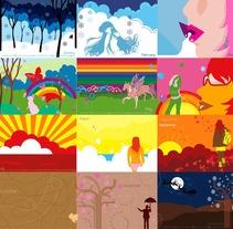 Calendario. Un proyecto de Ilustración de Renata Ortega Cirera         - 18.05.2010