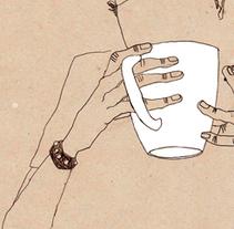 coffee & cigarettes. A Design&Illustration project by rafa manso         - 11.06.2010