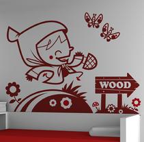 Cuentos en vinilo. Um projeto de Design, Ilustração e Instalações de Cottoncut design - 28-06-2010