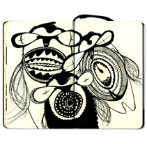Cuaderno de bocetos. Um projeto de Design e Ilustração de Elvira Rojas         - 30.06.2010
