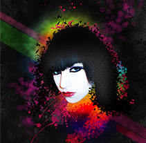 Dark girl. A Design&Illustration project by Guillermo Lucini  - 09-07-2010