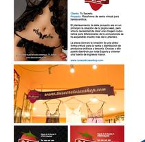 Tu Secreto (Tienda erótica). Un proyecto de Diseño y Desarrollo de software de Rodrigo Maroto - Lunes, 12 de julio de 2010 18:46:23 +0200