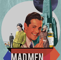 Mad Men. A Design, Illustration, Advertising, Film, Video, and TV project by David Shot - Jul 20 2010 12:49 AM
