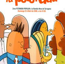 petonada. Un proyecto de Diseño, Ilustración y Publicidad de aluka  - 20-07-2010