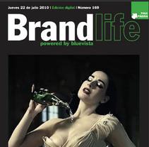 Revista Brandlife Digital. A Design project by Pokemino         - 25.07.2010
