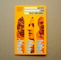 Quadríptico: Gente con Iniciativas. Un proyecto de Diseño de Nadie Diseña - 26-07-2010