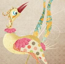 La pluma. A Illustration project by María josé García         - 02.08.2010