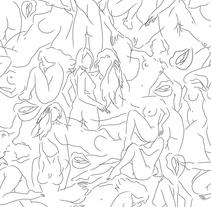 Wallpaper naked. Um projeto de Design e Ilustração de Jordi Carrasco         - 22.08.2010
