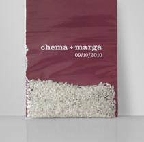 Chema & Marga. A Graphic Design project by La caja de tipos  - Feb 01 2010 12:00 AM