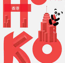 Hong Kong. A Design&Illustration project by PATTEN  - 15-10-2010