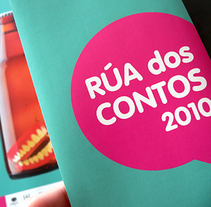 Rúa dos Contos 2010. A Design, Illustration, Photograph, and Advertising project by Gende Estudio - Oct 20 2010 08:52 AM