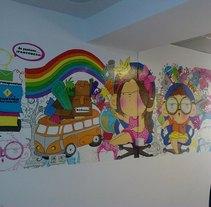 muralismo. Un proyecto de Ilustración de marta méndez alvarez - Jueves, 25 de noviembre de 2010 11:24:38 +0100
