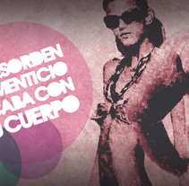 Cartel Desorden Alimenticio. A Design, Illustration, and Advertising project by C. Germán González         - 04.12.2010