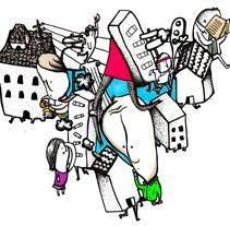 Trafico. Un proyecto de Ilustración de Clau Ruiz - Domingo, 12 de diciembre de 2010 20:58:41 +0100