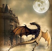 Castillo de dragón. Un proyecto de Diseño e Ilustración de Susana García Montes - 15-12-2010