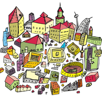 City Project 2010. A Design&Illustration project by Jesús Guerra         - 01.01.2011