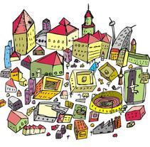 City Project 2010. Um projeto de Design e Ilustração de Jesús Guerra         - 01.01.2011