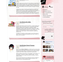 Blog Dolores Promesas. A Design project by Jaime López Revuelta - Jan 04 2011 12:44 PM