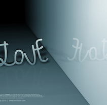 Love / Hate. A Design, and 3D project by Enric  Boix - 10-01-2011
